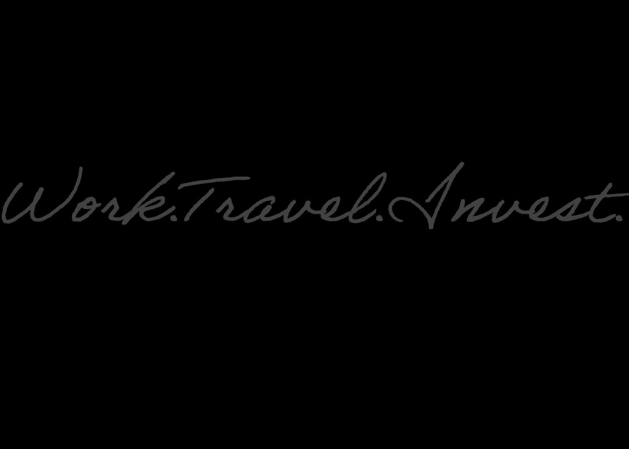 Work Travel Invest