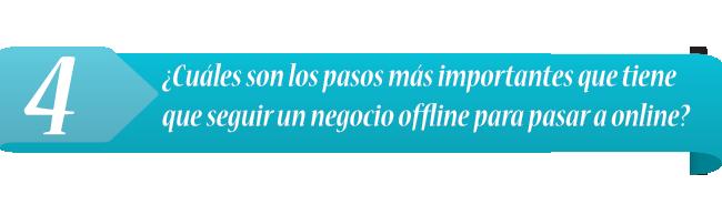 Pasos a dar del offline al online según Fernando Muñoz