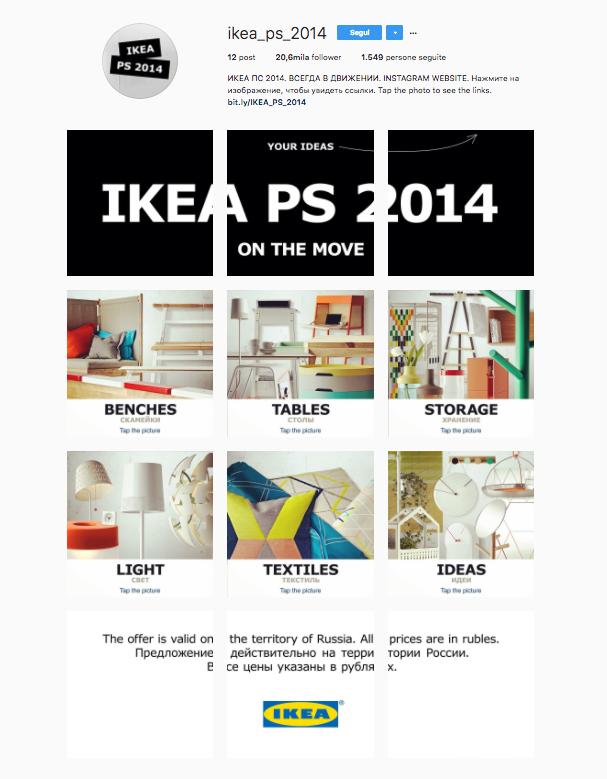 Usare le immagini prodotto per aumentare le conversioni di un ecommerce: Ikea Russia