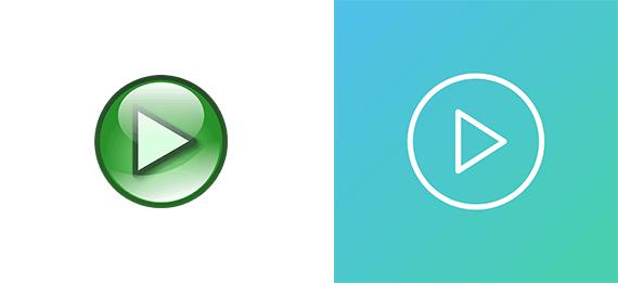 Design di simboli: il rimando ad oggetti reali per le User interface