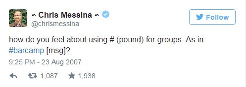 Cómo crear un hashtag-primer hashtag