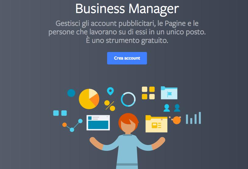 Promozione di un ecommerce su Facebook: uso di Business Manager