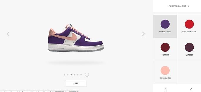 Personalización en Marketing - Ejemplo Nike