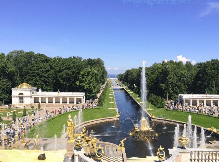 Visita a Peterhof en el #WNSM16 - Foto 1