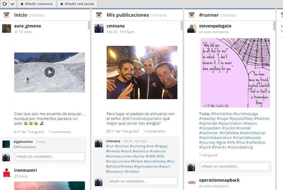 Apps para Instagram: Hootsuite