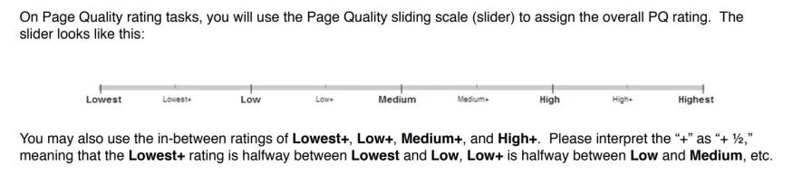 Qué es SEO - Escala de calidad de los quality raters