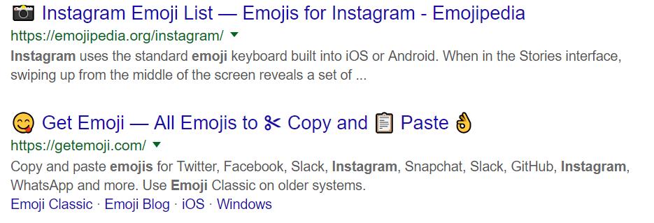Cómo utilizar emojis - Google
