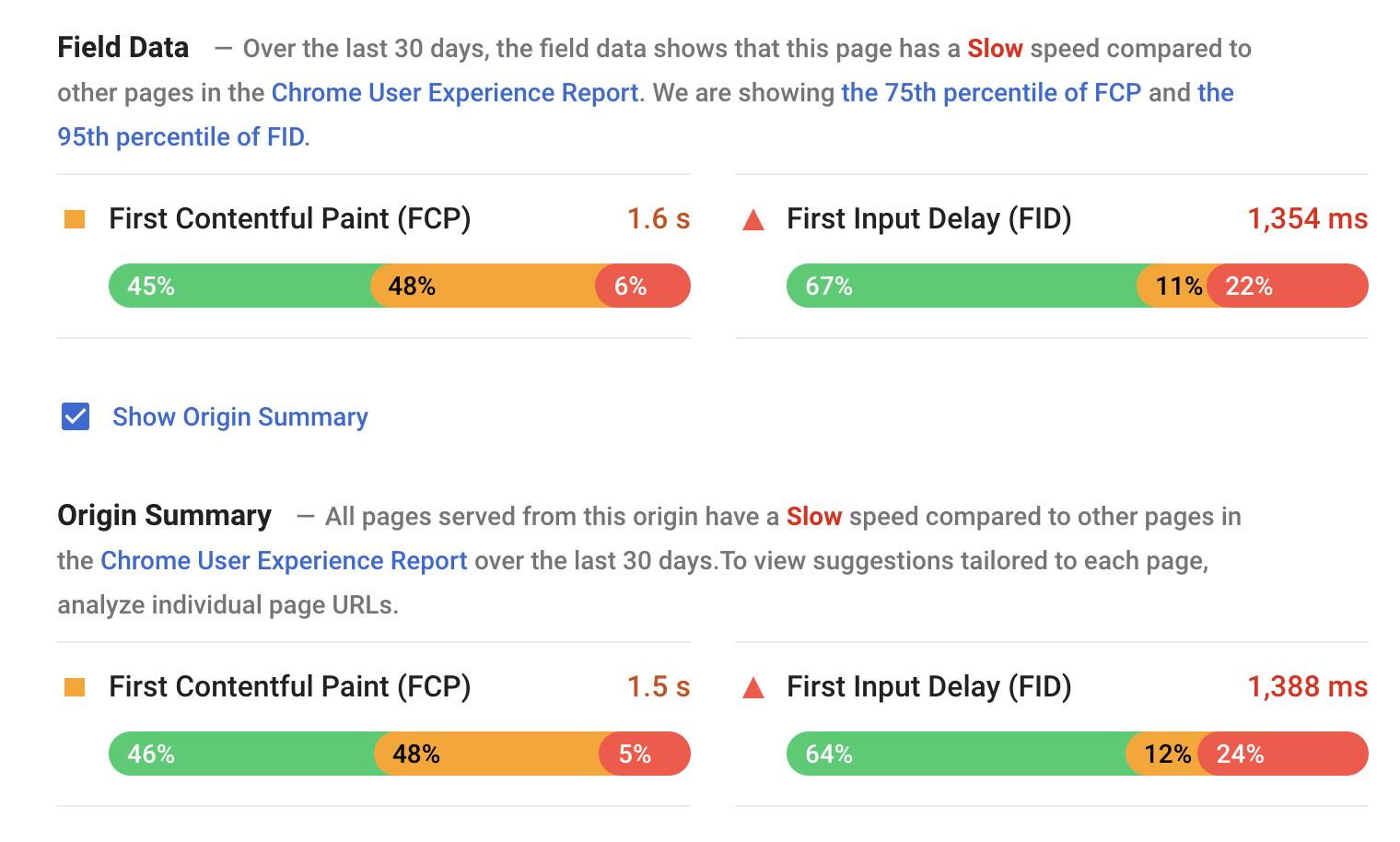 Fatores de posicionamento SEO para o Google: PáginaSpeed Insights