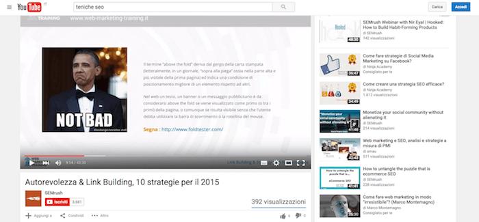 Migliorare la SEO includendo Youtube nella tua strategia