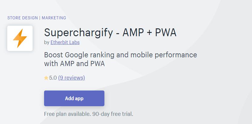 Superchargify PWA
