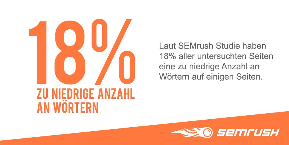 SEMrush Studie: Die 11 häufigsten SEO Onsite Fehler . Bild 9