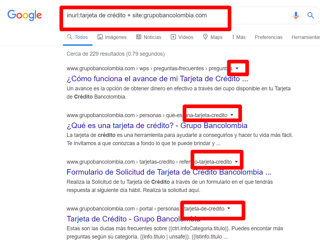 Linkbuilding de calidad - Footprint inurl en Google