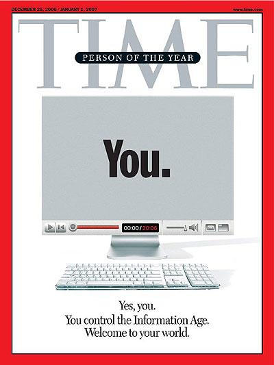 Copertina Time: l'inizio dell'era dell'informazione
