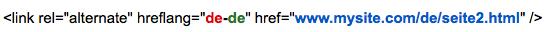 "link rel=""alternate"" hreflang=""de-de"" href"