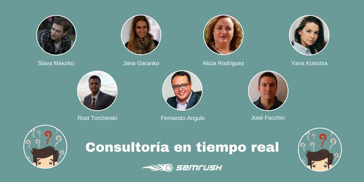 El equipo de SEMrush en español