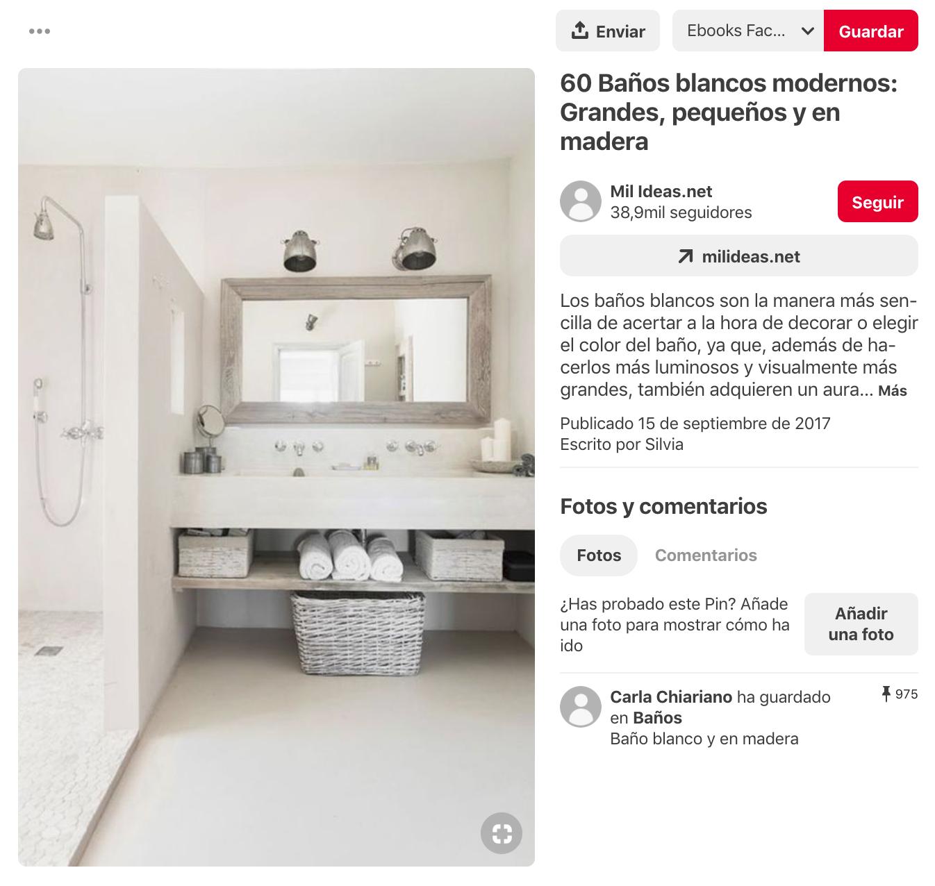 Qué es Pinterest - Como motor de búsqueda