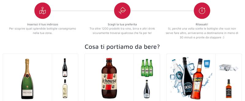 una startup italiana di successo è winelivery