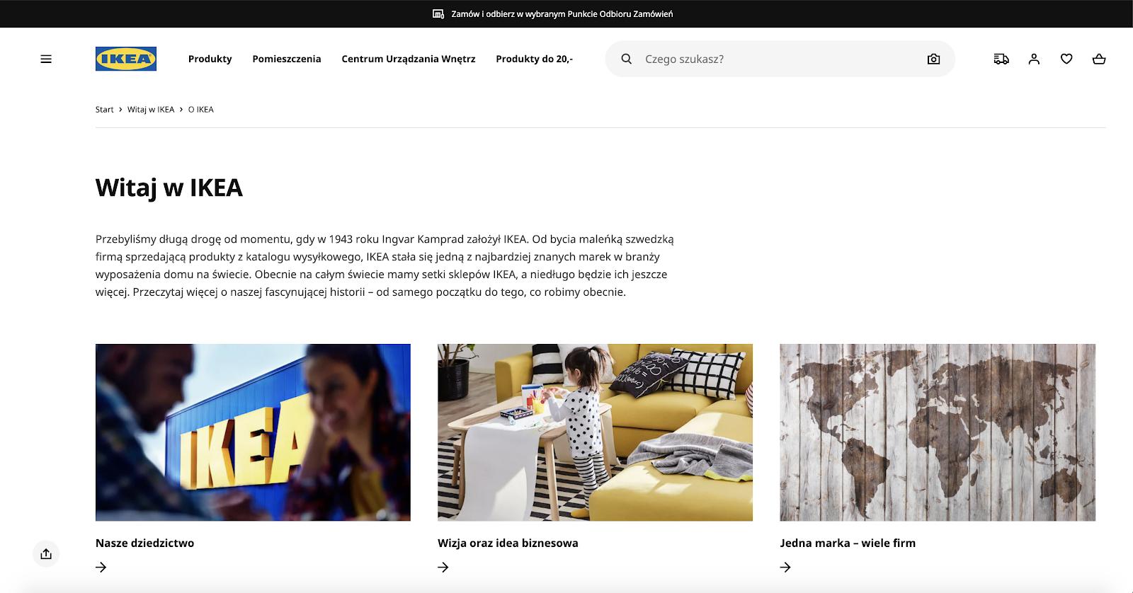 IKEA Polish site