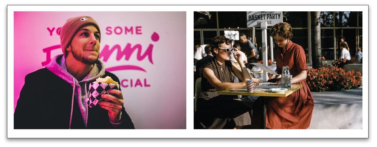 Presencia visual en redes sociales - Ejemplo imágenes