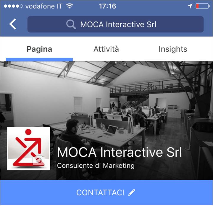 Facebook: si può configurare un invito all'azione