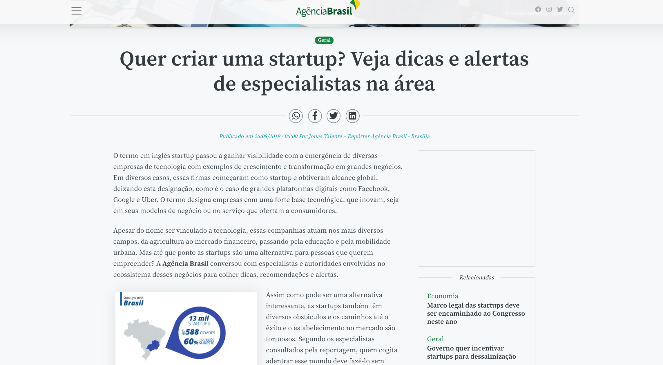 Print Noticias sobre startups