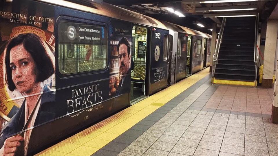 Street marketing - Ejemplo Harry Potter Nueva York