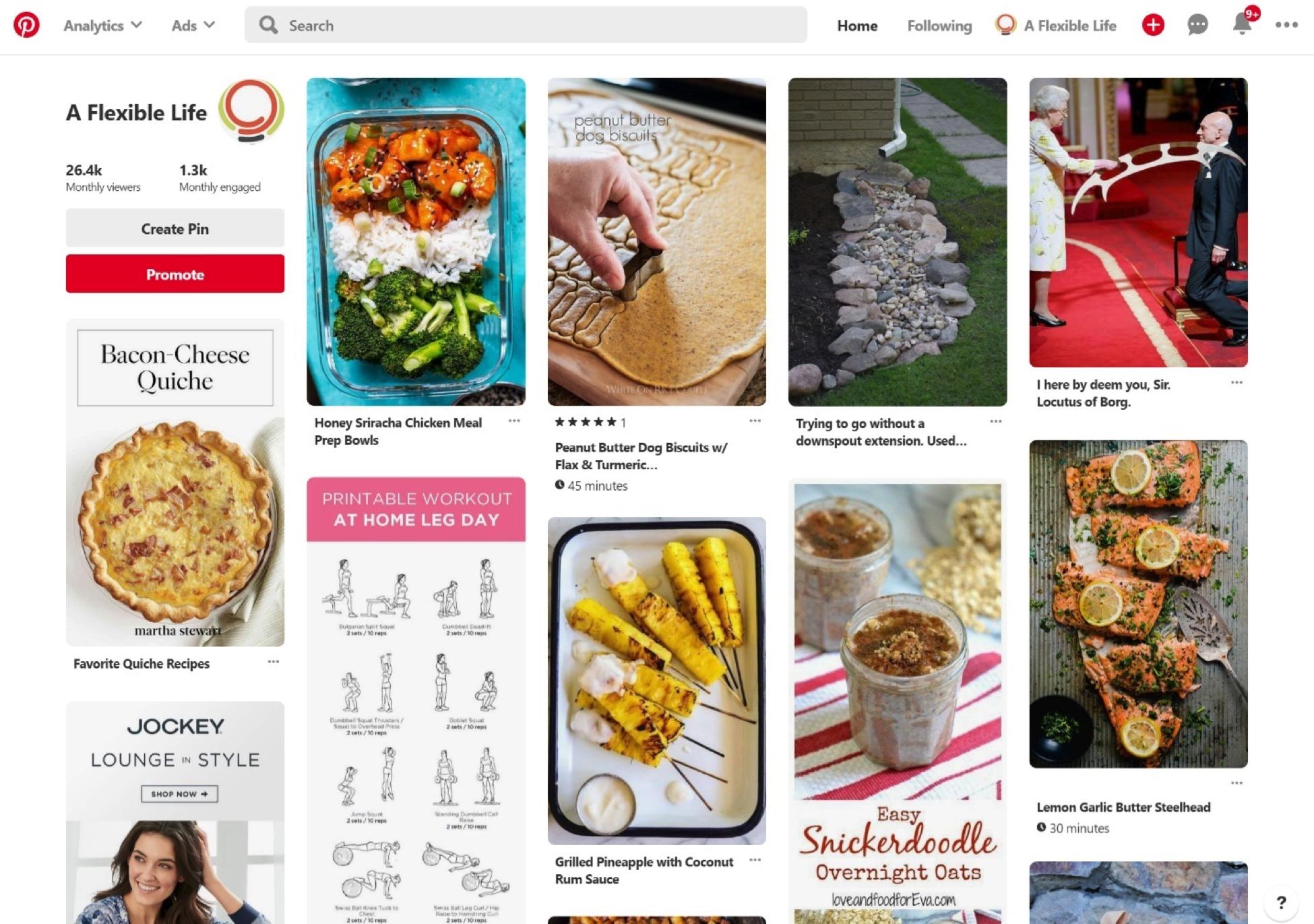 Cómo usar Pinterest - Feed inteligente