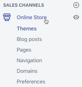 shopify sitemap