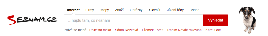 Screenshot: Seznam.cz