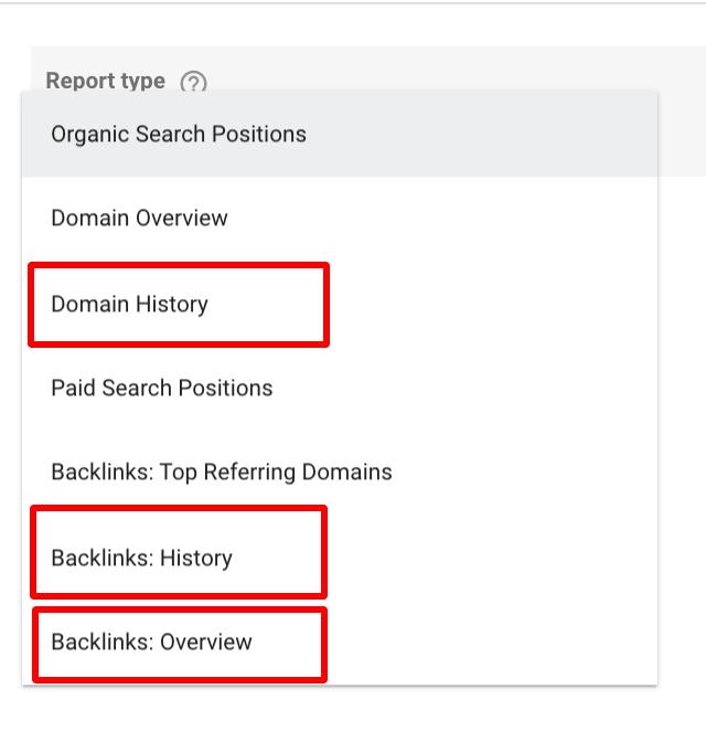 connettore analisi dominio per data studio
