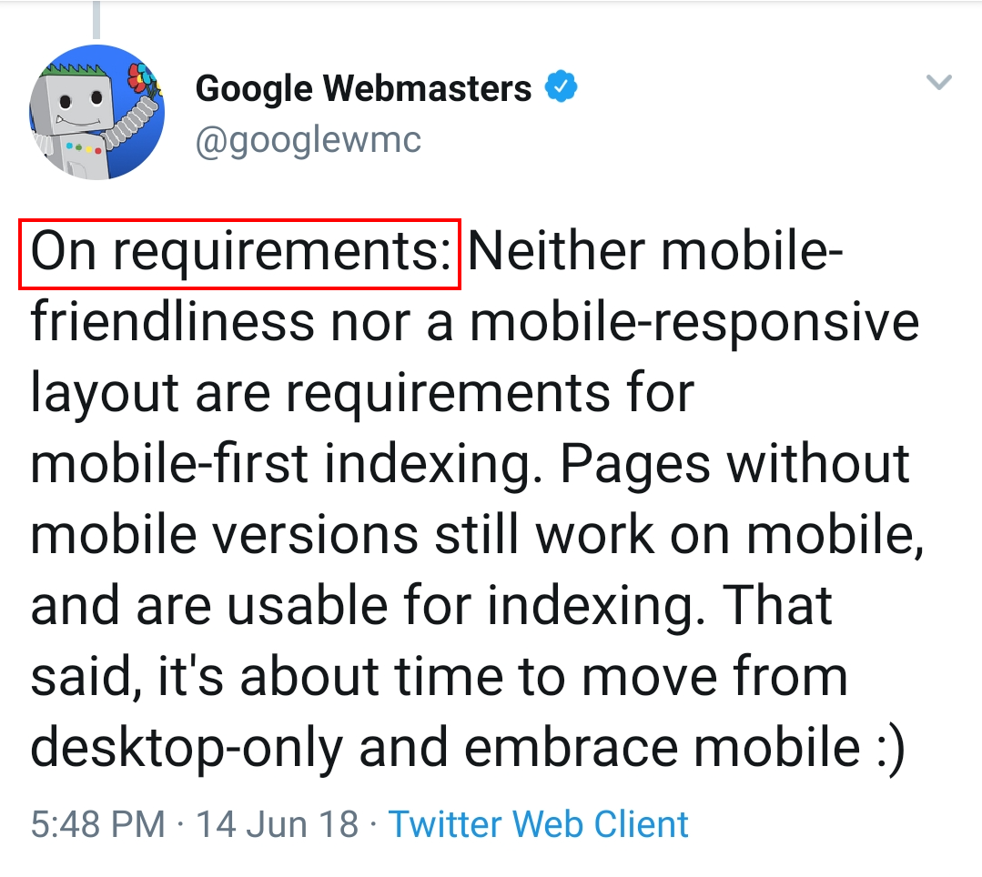Google-mobile-first-indexing-requirements