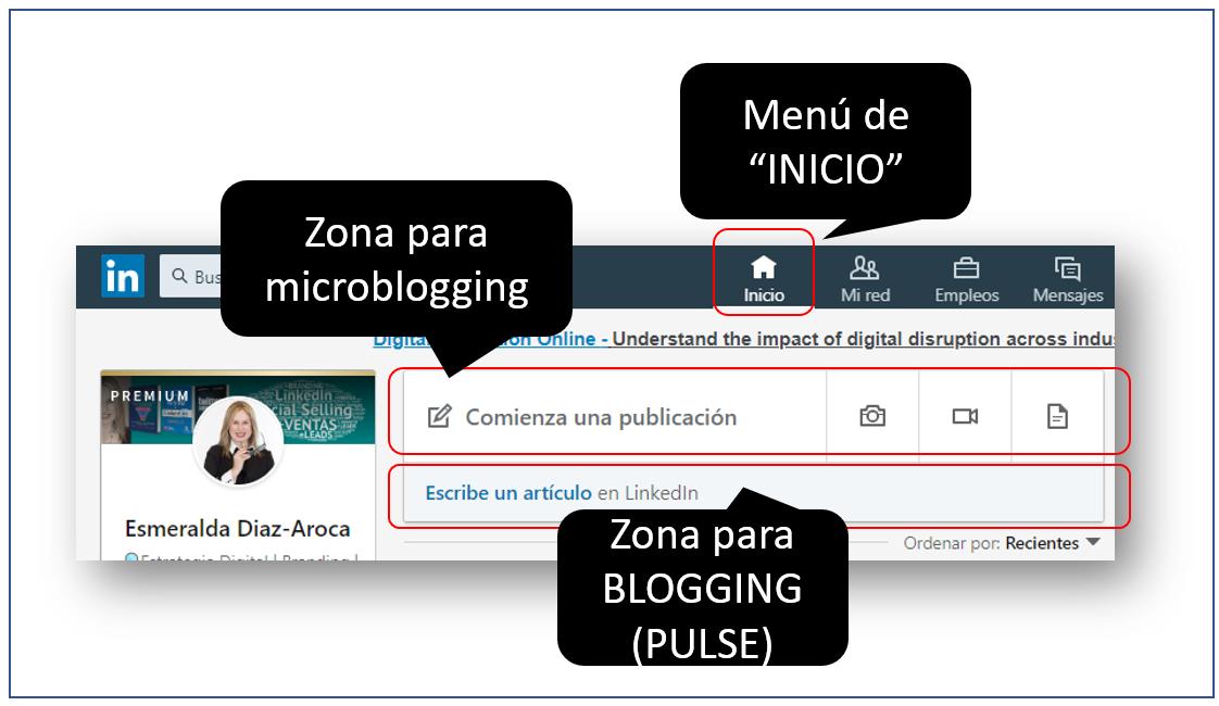 Estrategia de contenidos en LinkedIn -PULSE y Microblogging