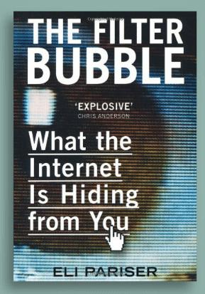 Pariser spiega cosa è la filter bubble e i suoi effetti