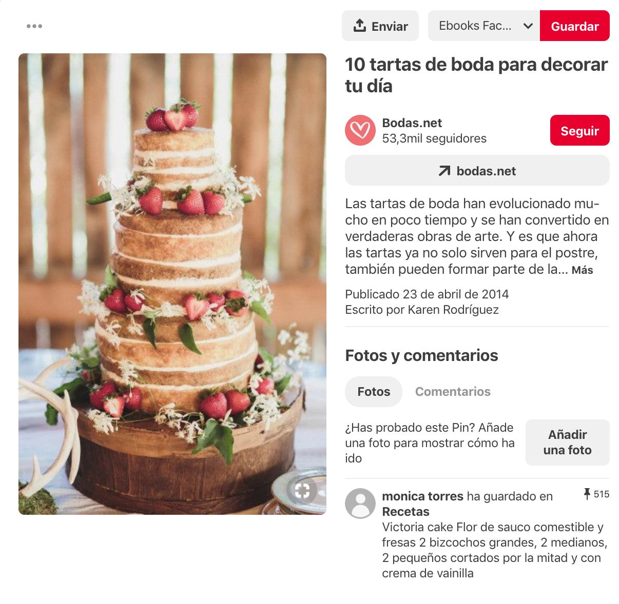 Qué es Pinterest - Palabras clave en pines