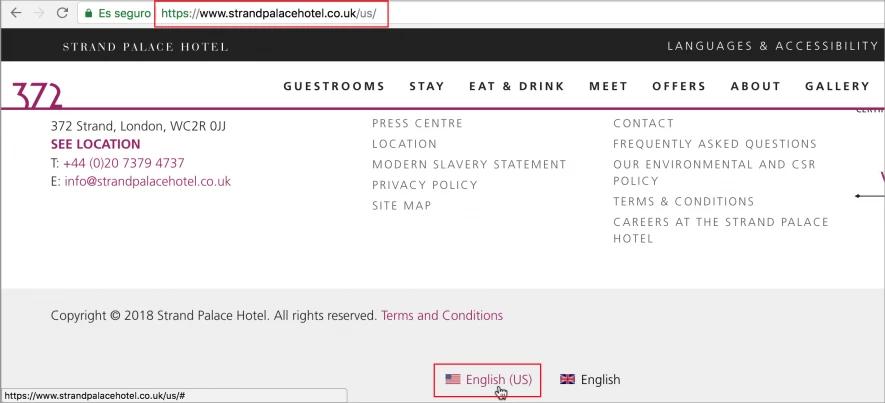 esempio di sito internazionale che usa un cctld invece di un gtld