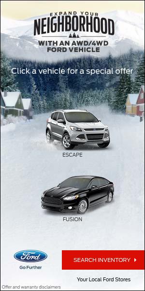 Estrategias SEM para ecommerces - Anuncio de display de Ford