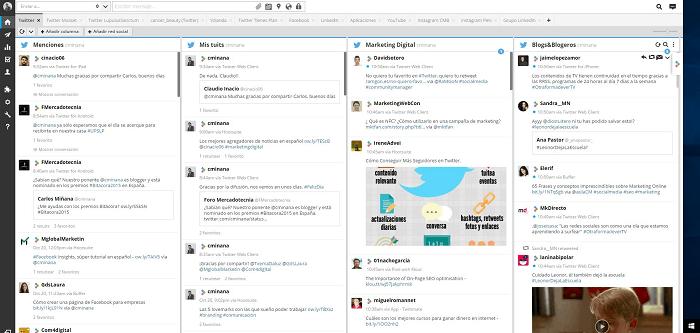 Herramientas para Twitter - Hootsuite