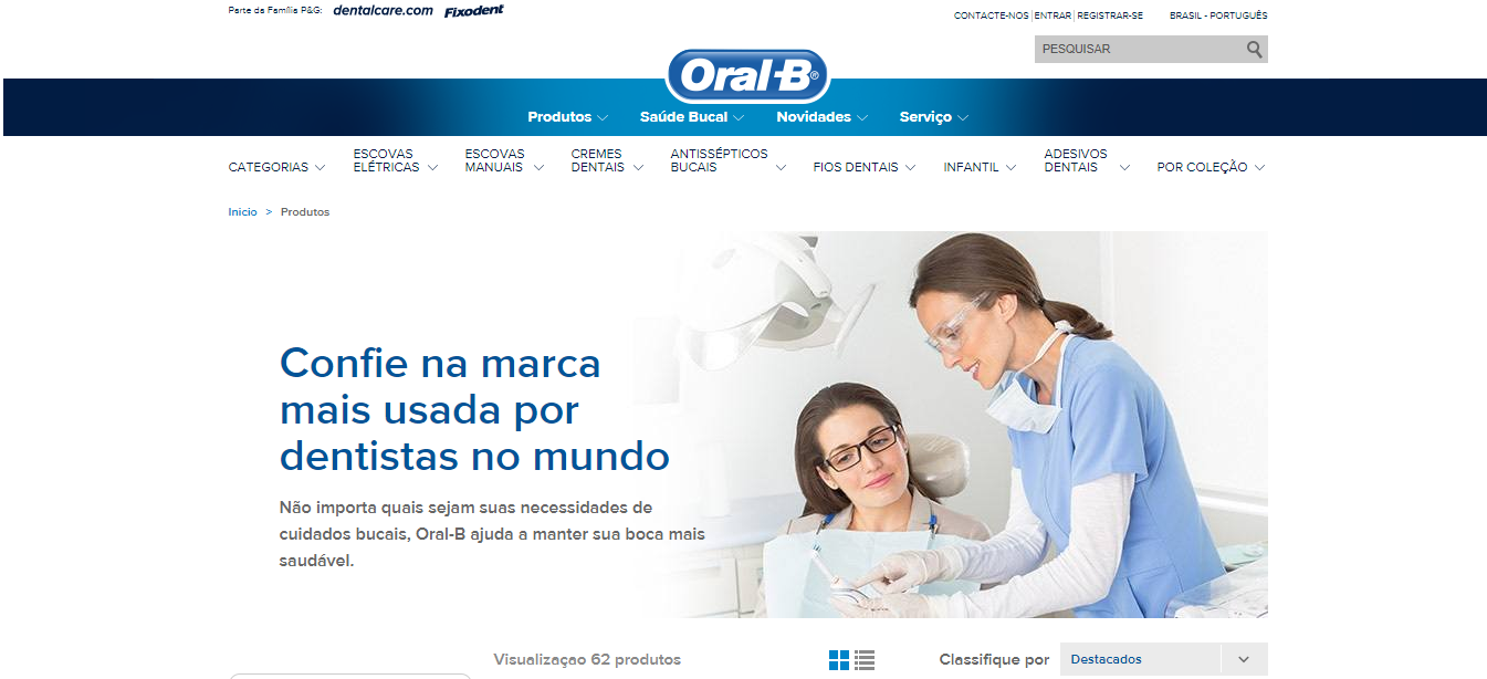 site-oral-b-uso-gatilhos-mentais