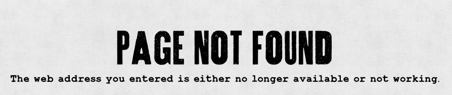 Taco Garage 404 page