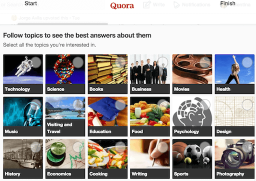 Scopri gli interessi del tuo pubblico con Quora