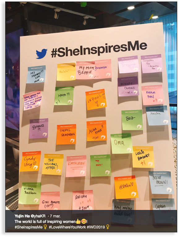 Storytelling para empresas - Caso Twitter 8 de marzo