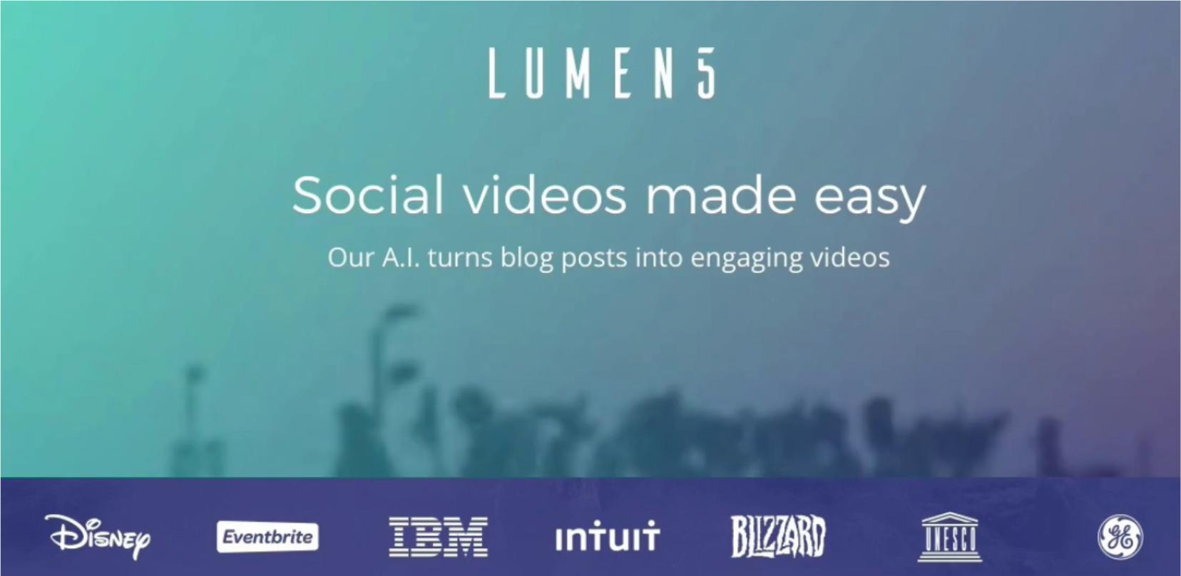 Lumen5 - PPC tools