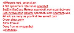 Spambot code