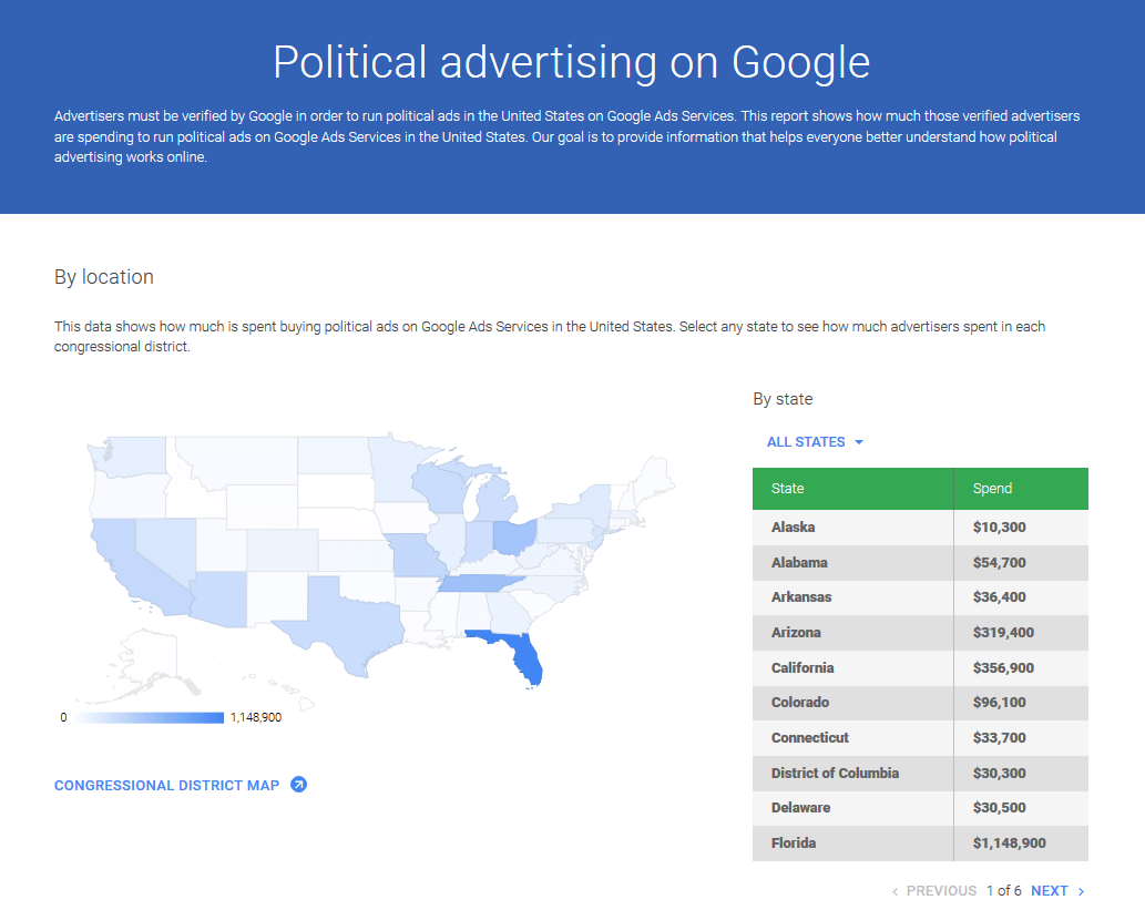 Google-political-ad-transparency-report-country