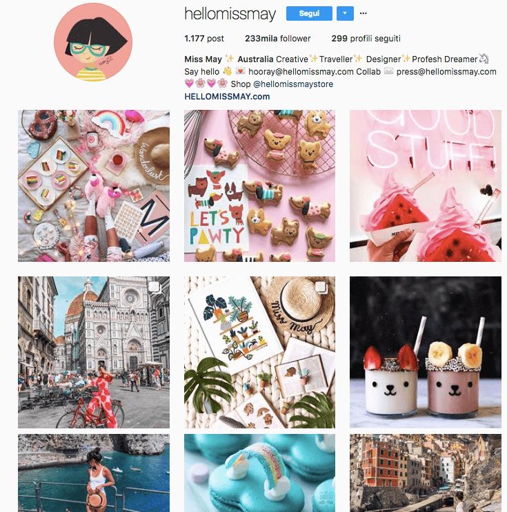 Hello Miss May: account Instagram interessante