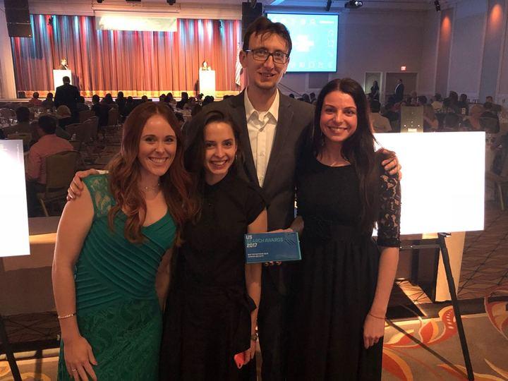 Il team di SEMrush riceve il premio US Search Awards