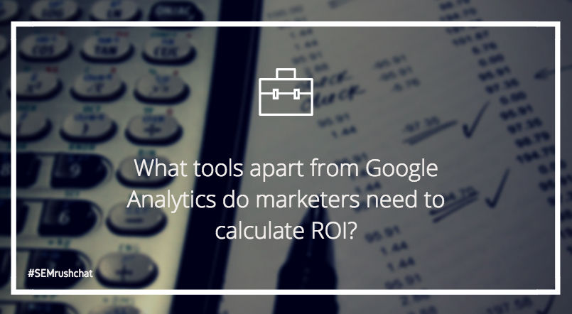 Tools for calculating ROI