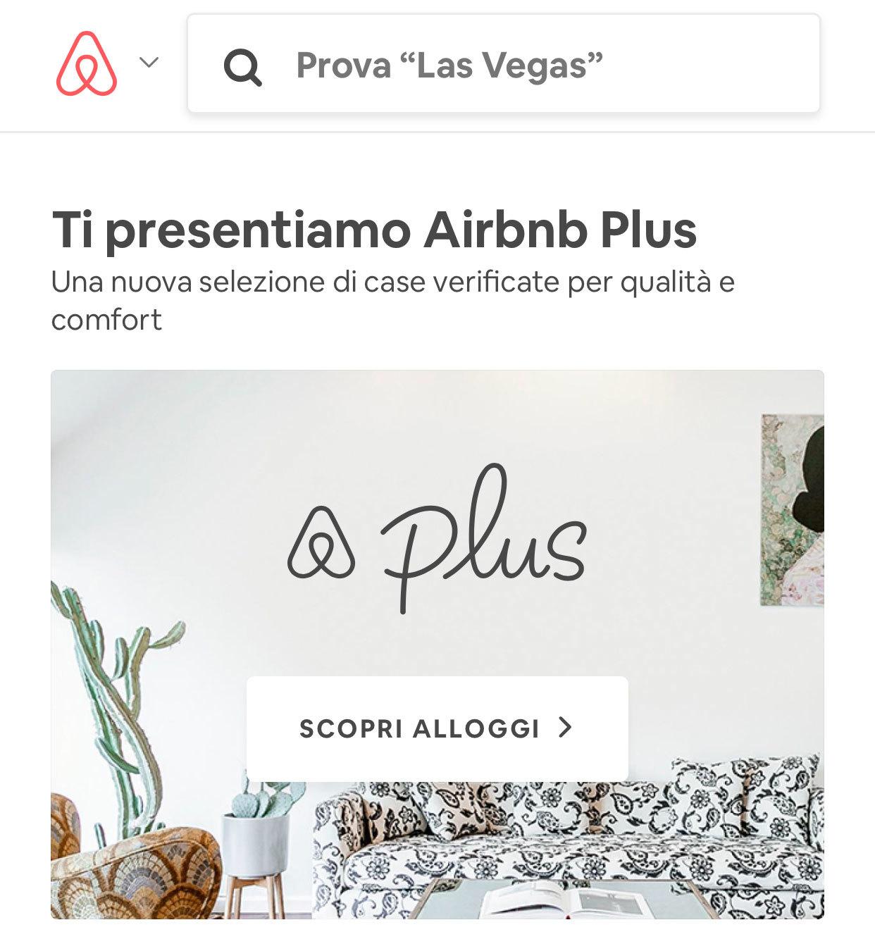 Esempi utili di microcopy: il motore di ricerca di Airbnb