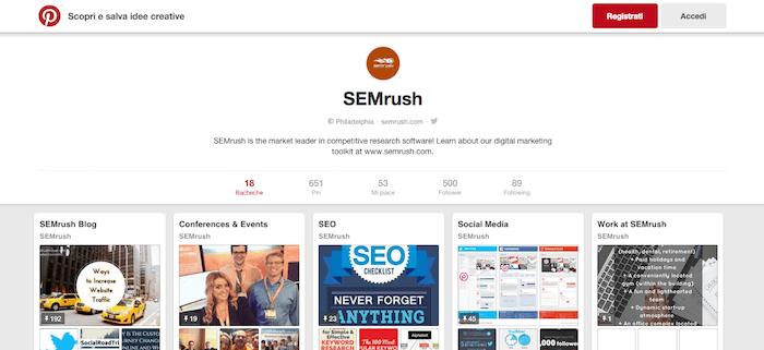 Tecniche SEO: come usare Pinterest nella tua strategia