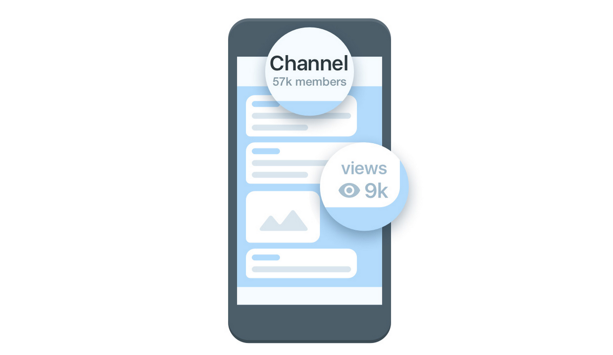 Canales Telegram - Vistas
